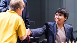 Wesley So leder London Chess Classic. Foto: Lannrt Ootes