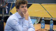 Magnus Carlsen måtte ta til takke med sølv i VM i lynsjakk. Foto: Yerazik Khachatourian