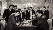 Åpningen av London chess Classic samlet en rekke businesstopper i storbyen. Foto: Lennart Ootes/London Chess Classic