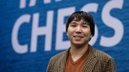 Wesley So leder i Wijk aan Zee etter 10 av 13 runder. Foto: Alina l'Ami/Tata Steel Chess