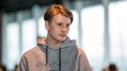 IMPONERTE: Johan-Sebastian Christiansen (18) i Reykjavik Open. Foto: Maria Emelianova