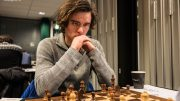 INTERNASJONAL MESTER: Benjamin Arvola Notkevich, her under Eliteserien tidligere denne sesongen. Foto: Rolf Haug/mattogpatt.no