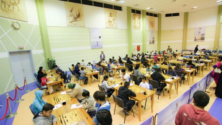 SJAKK I DUBAI: Dubai Chess Club har kanskje de mest spektakulære lokalene i hele verden. Foto: dubaichess.ae