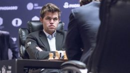 VM-MATCH I NORGE? Det jobbes hardt for at Magnus Carlsen spiller om VM-tittelen i Norge i 2018. Foto: Maria Emelianova