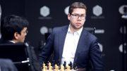 REMIS: Jon Ludvig Hammer har grunner til å være fornøyd med starten i Moskva Grand Prix. Foto: Anastasiya Karlovich/FIDE