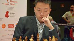VIDUNDERBARN: Wei Yi (18) har tapt to ganger på fire møter med Carlsen. Her fra Bilbao i 2016. Foto: Yerazik Khachatourian
