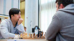 Bu Xiangzhi. Foto: Anastasia Karlovich/FIDE