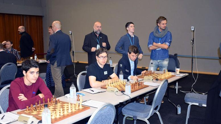 Norge er uten Magnus Calrsen, men både Jon Ludvig Hammer og Aryan Tari er på plass under EM på Kreta. Her fra 2015 på Island. Foto: Tarjei J. Svensen