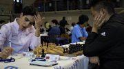 Aryan Tari i oppgjøret mot Xu Xiangyu i Junior-VM 2017. Foto: Romualdo Vitale