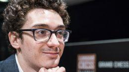 VERDENSTOER: Fabiano Caruana vant sin første superturnering på over to år i London, og klatret igjen opp på andreplass på verdensrankingen. Foto: Lennart Ootes/Grand Chess Tour