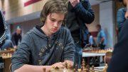 TALENT: Tor Fredrik Kaasen (15) kan bli Norges neste internasjonale mester. Her fra NM i sommer. Foto: Rolf Haug/mattogpatt.no