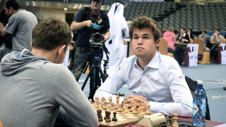 TITTELFORSVARER: Sergey Karjakin tok lynsjakktittelen i Qatar i fjor, og russeren er en av dem Magnus Carlsen må overliste om han skal ta den tittelen. Foto: Yerazik Khachatourian