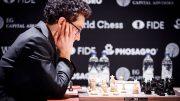 VM-UTFORDRER: Fabiano Caruana er klar for VM-match mot Magnus Carlsen etter seier i Kandidatturneringen i Berlin. Foto: World Chess